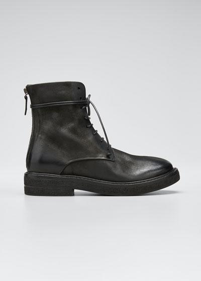 Parrucca Lace-Up Combat Boots
