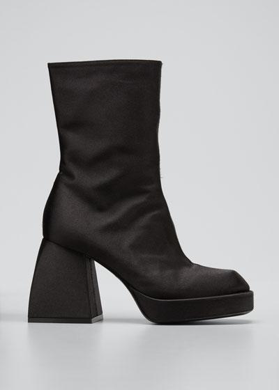 Bulla Corta Satin 85mm Boots