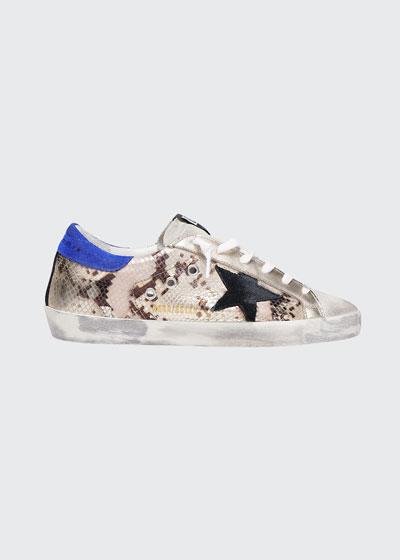 Superstar Python Low-Top Sneakers
