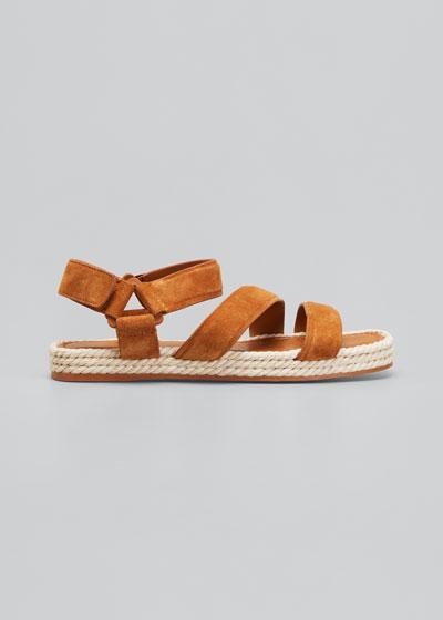 Elian Suede Flatform Sandals