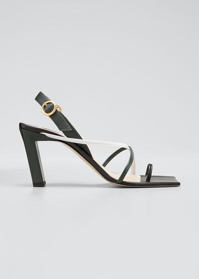 Eliza Square-Toe Sandals