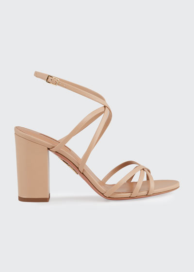 Gin 85mm Napa Leather Sandals