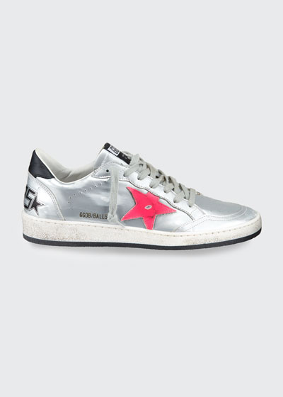 Ballstar Metallic Sneakers