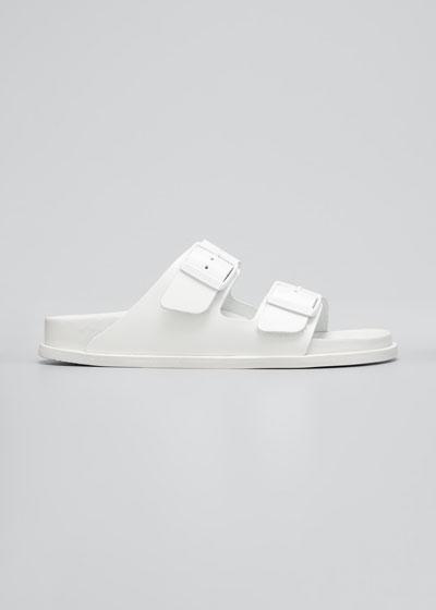 Arizona Double Buckle Slide Sandals