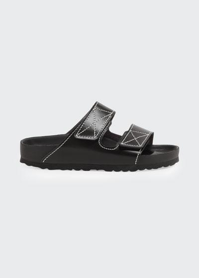 x Proenza Schouler Arizona Double Grip-Strap Slide Sandals