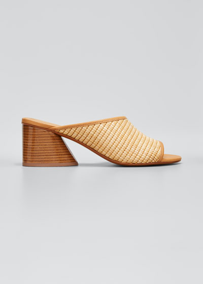 Izar Low-Heel Slide Sandals