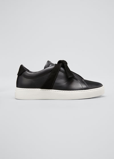 Clarita Low-Top Knotted Sneakers