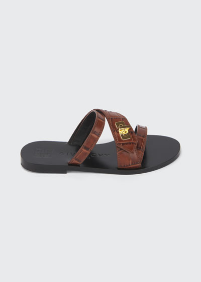 Eden Turn-Lock Slide Sandals