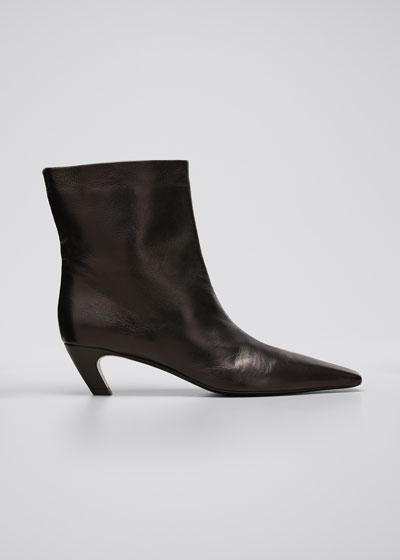 Arizona Leather Ankle Booties