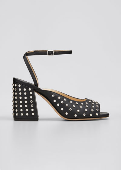 Jassidy 85 Block-Heel Sandals