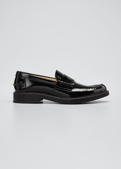 Patent Mocassino Penny Loafers