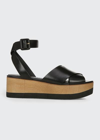 Wynie Ankle-Strap Platform Sandals