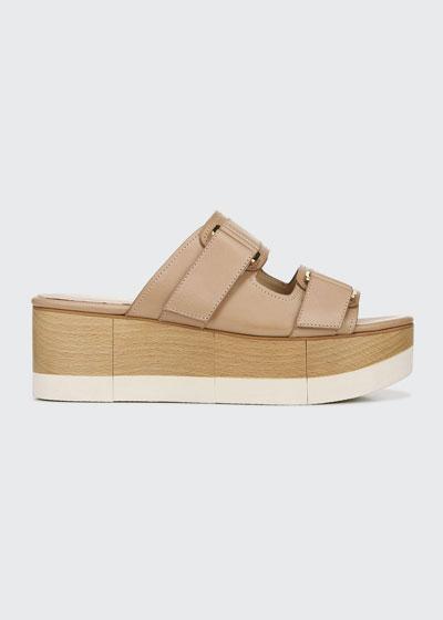 Welda Platform Wedge Slide Sandals