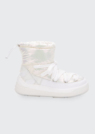 Insolux Down Iridescent Snow Boots