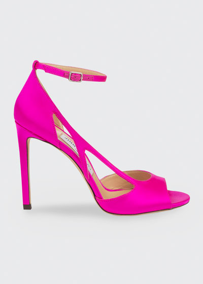 100mm Liu Peep-Toe Sandals