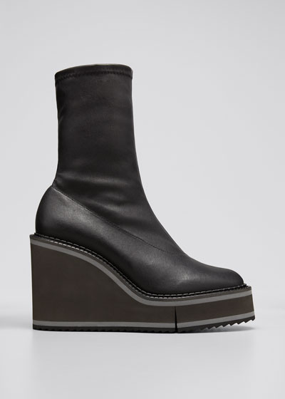 Bliss 45mm Leather Stretch Booties