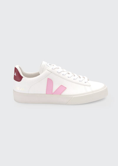 Campo Bicolor Leather Low-Top Sneakers