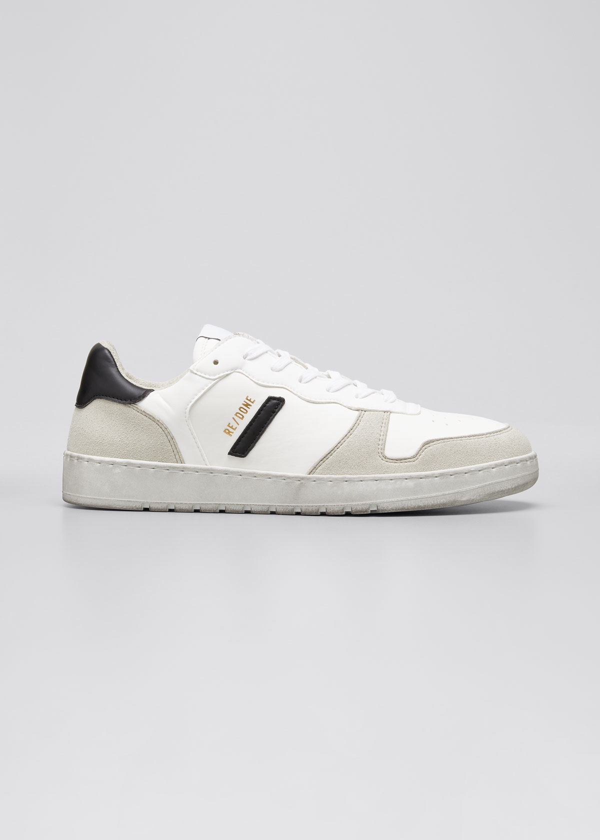 Re/done SUSTAINABLE LOW-TOP 80S BASKETBALL SNEAKERS