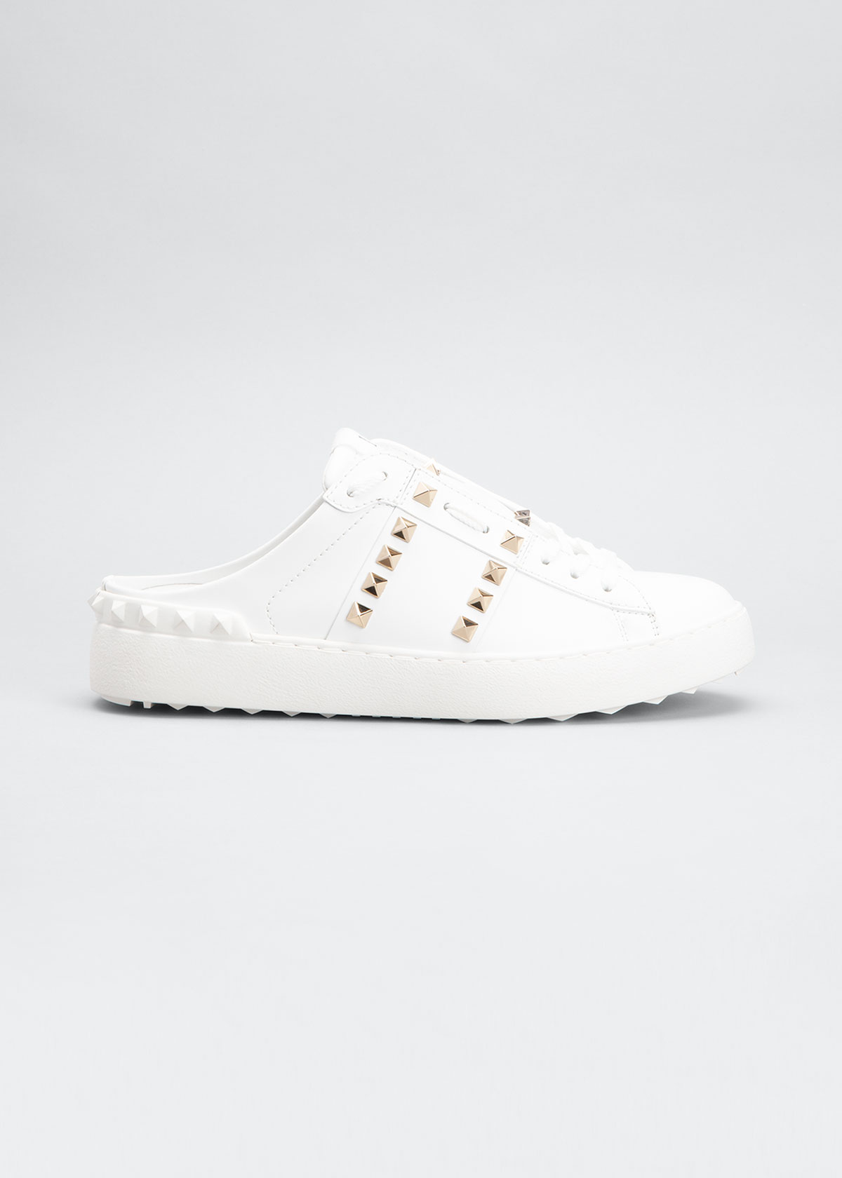 Valentino ROCKSTUD LEATHER MULE SNEAKERS
