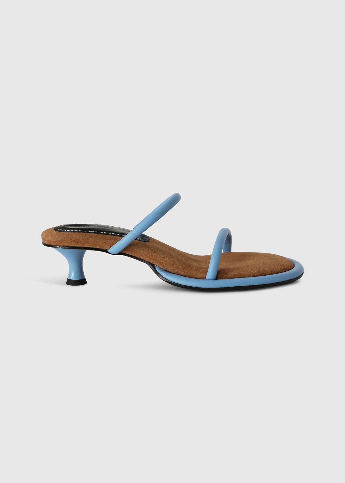Proenza Schouler Sandals PIPE KITTEN-HEEL SLIDE SANDALS
