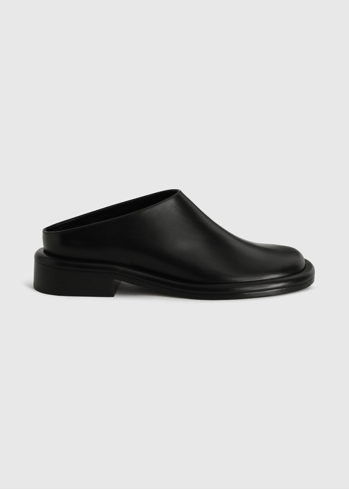 Proenza Schouler Loafers PIPE LEATHER SLIDE MULES