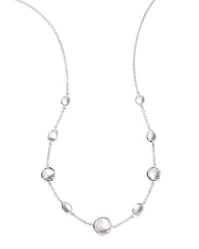 Wonderland Quartz Necklace, 18