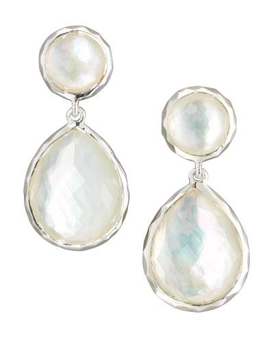 Rock Candy Drop Earrings, Mother-of-Pearl
