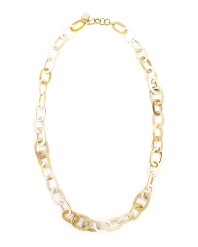Light Horn Link Mara Necklace