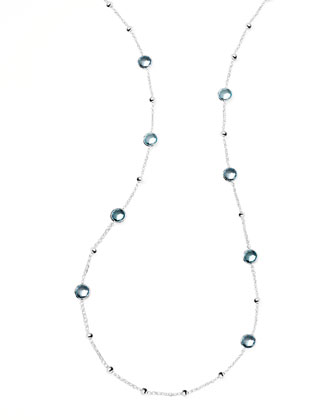 Rock Candy Mini Lollipop Topaz Necklace