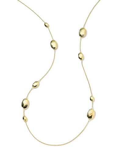 18k Gold Glamazon Multi Lollipop Station Necklace