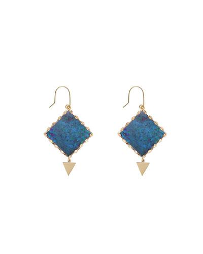 Mini Prix Boulder Opal Earrings