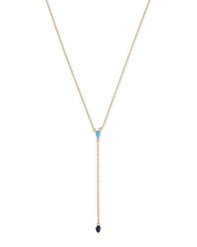 18K Chiara Lariat Necklace