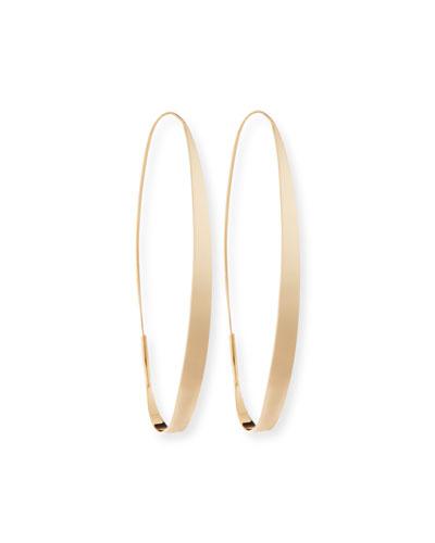 Large Magic Gloss Hoop Earrings