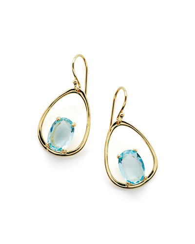 18K Rock Candy Wire Earrings