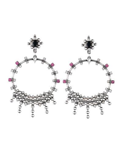 Lauren Crystal Statement Earrings