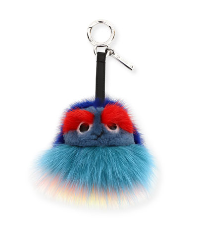 Kid Bag Charm, Blue/Multi