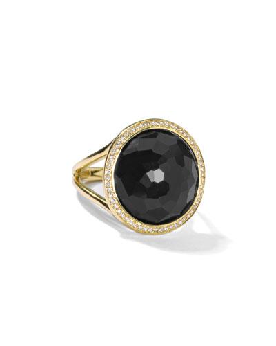 18k Small Round Diamond Lollipop® Ring