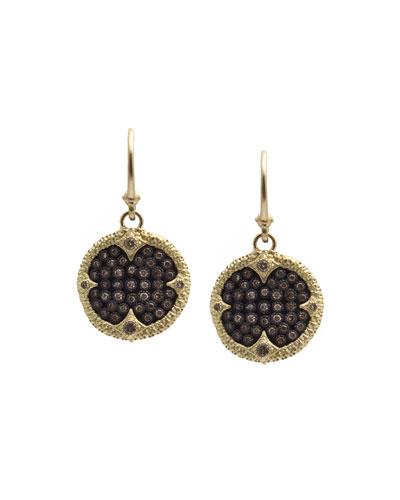 Old World Ombré Diamond Drop Earrings