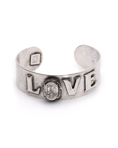 Charity Love Cuff Bracelet
