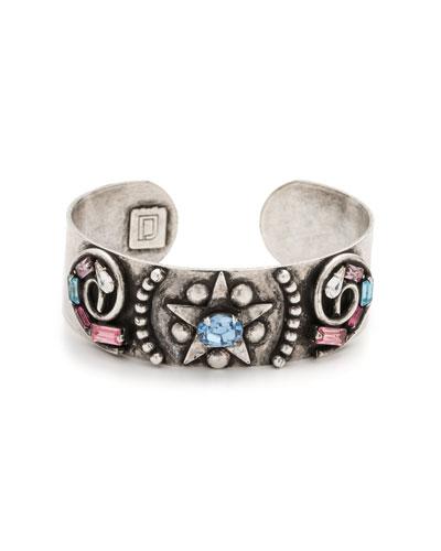 Renee Crystal Cuff Bracelet