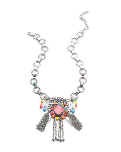 Aloha Crystal Statement Necklace