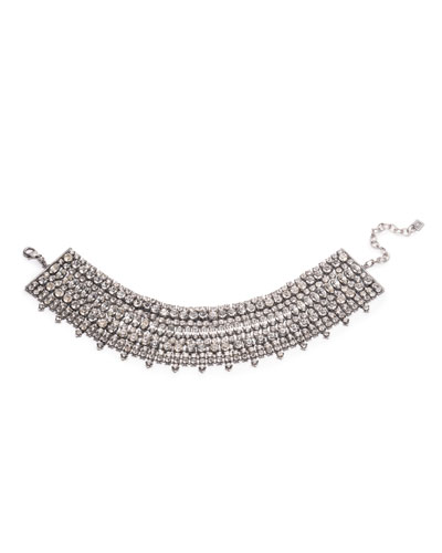 Stellan Crystal Choker Necklace