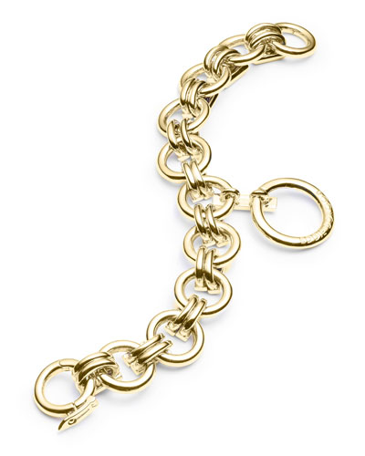 O-Ring Charm Chain Bracelet