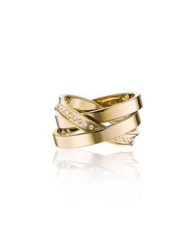 Cassio Pavé Crystal Ring Set
