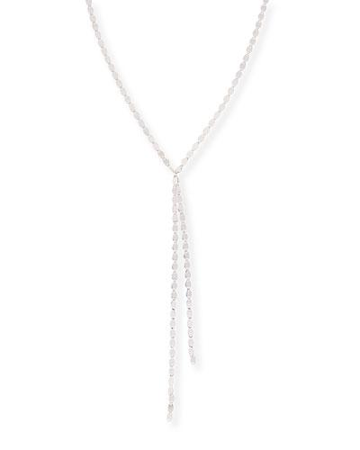 Nude Duo Drop Necklace