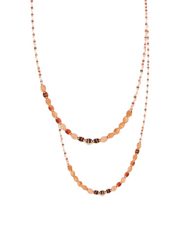 14K Nude Duo Layering Necklace