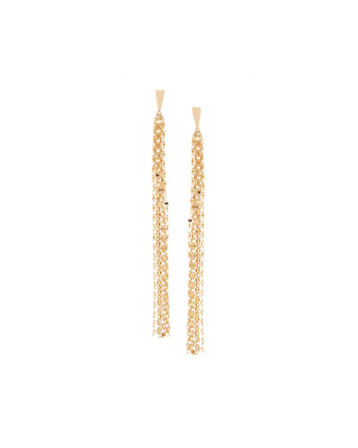 14K Tassel Duster Earrings