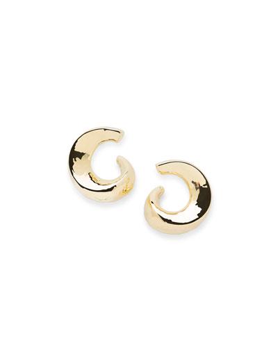 Ippolita 18K Classico Snail Hoop Earrings