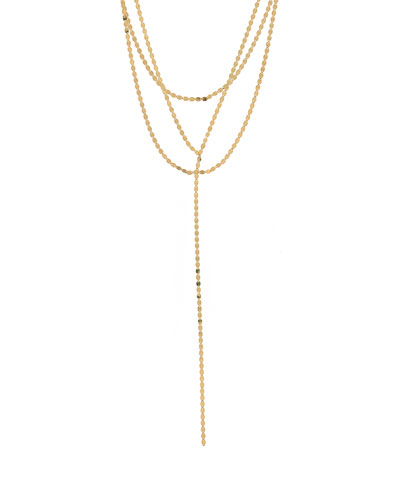 Nude Blake Layered Necklace, 28