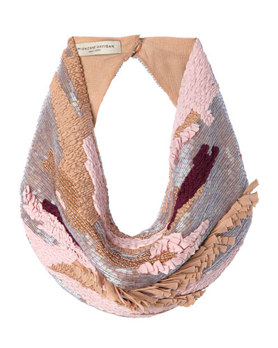 Ellery Beaded Scarf Necklace